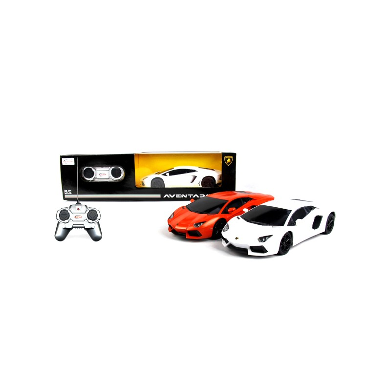 RASTAR RC Cars 1:24 Aventador LP700, with light and sound effects movie machine style abs keyring pendant decoration key chain with light sound