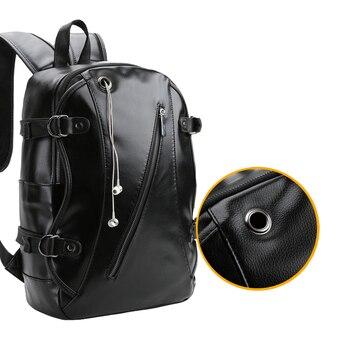 Mochila De deporte Vintage para gimnasio, mochila de cuero, mochila para hombres, niñas, Fitness, para ir de compras al aire libre, bolsa de estudiante para caminar por la ciudad