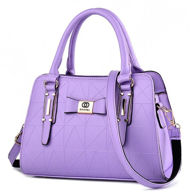 Women Handbag PU Leather Shoulder Bags Lady Large Capacity Crossbody Office Hand Bag 5