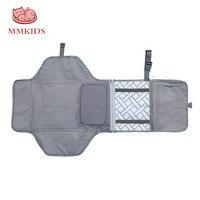 Коврик для переодевания малыша водонепроницаемая сумка для мамочки детская коляска складная Узорчатая пеленка дорожный стол для пеленани...