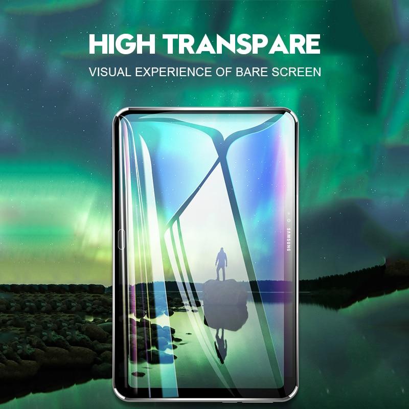 Защитная пленка для экрана samsung Galaxy Tab A 10,1 A 8,0 10,5 9D с закругленными краями из закаленного стекла для Galaxy Tab S5e S4 S6