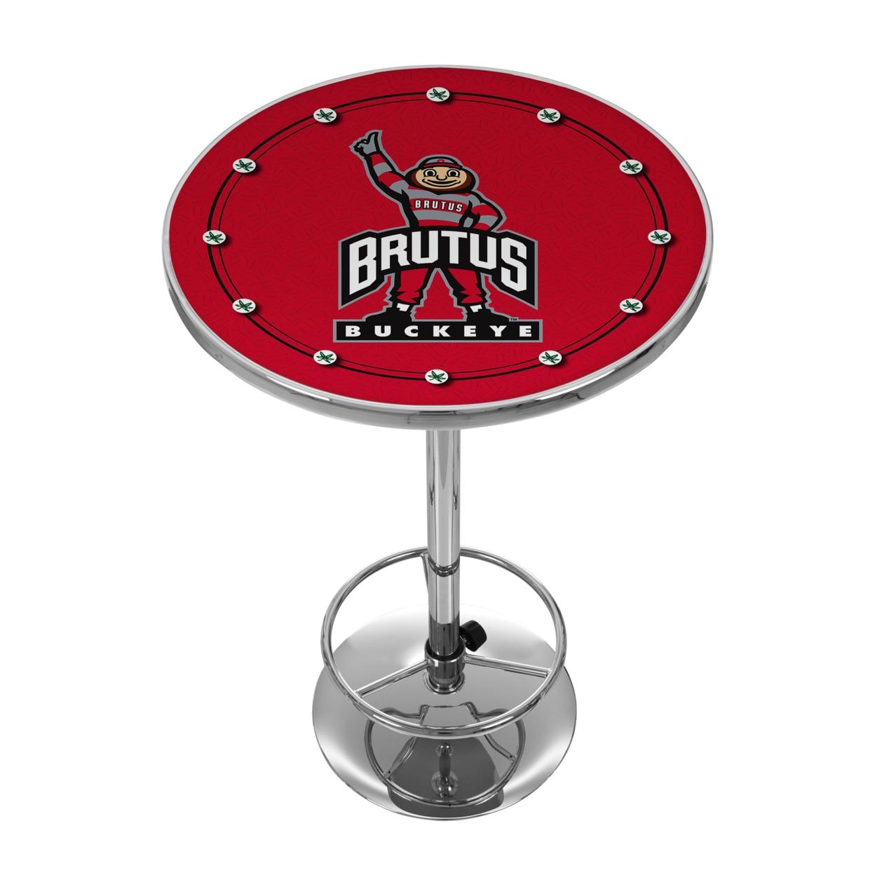 The Ohio State University 42 Inch Pub Table - Brutus ботинки meindl meindl ohio 2 gtx® женские