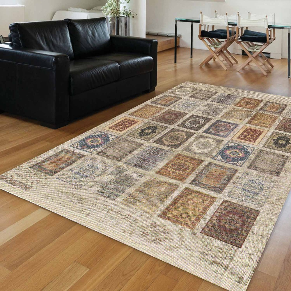 Else Authentic Mixed Carpet Turkish Ethnic Vintage Ottoman 3d Print Anti Slip Kilim Washable Decorative Area Rug Bohemian Carpet