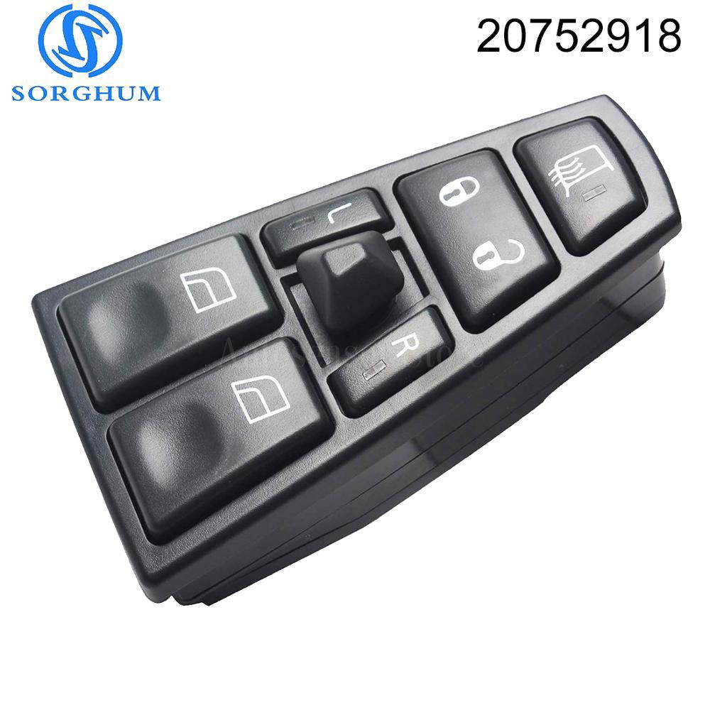 20752918 Window Control Switch  FOR VOLVO FH12 FM12 FM9 FH FM VNL 20953592 20455317 20452017 21354601 21277587 20568857 21543897