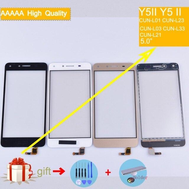 Màn hình cảm ứng Cho Huawei Y5II Y5 II CUN-L01 CUN-L23 CUN-L03 CUN-L33 CUN-L21 Màn Hình Cảm Ứng Cảm Biến Digitizer Glass Lens Bảng Điều Khiển Phía Trước