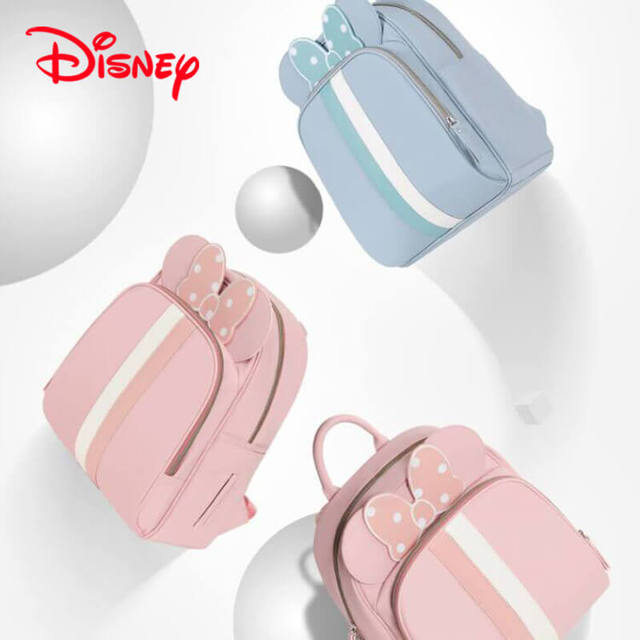 24babd327eaf Disney Minnie Gucci Inspired Striped Best Diaper Baby Bag Backpack Mummy  Maternity Care Large Capacity Nappy