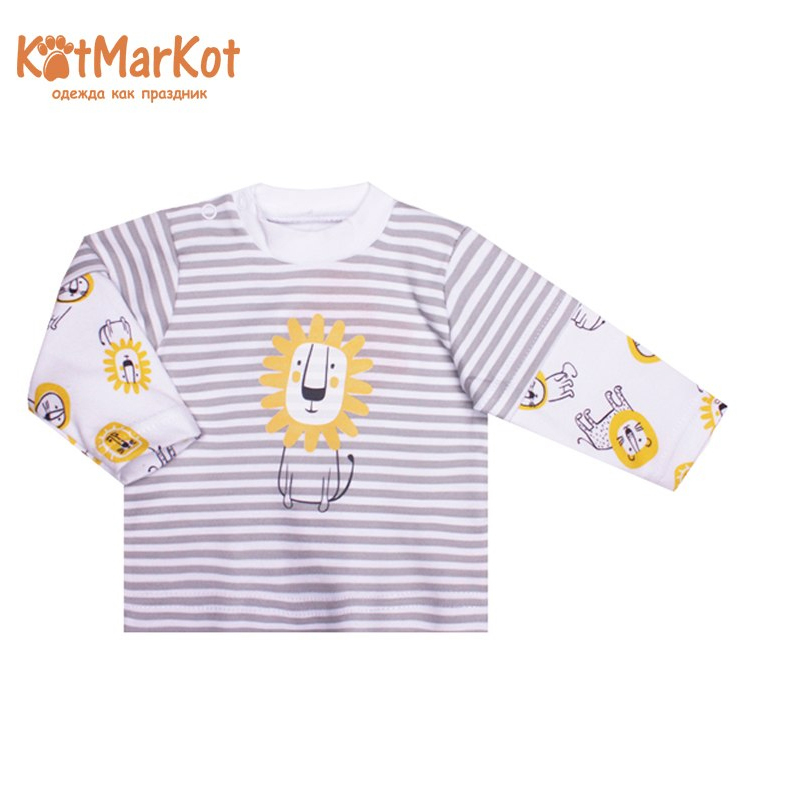 Jumper Kotmarkot 7344 children clothing cotton for baby boys kid clothes 2017 autumn newborn baby clothing fashion cotton casual infant underwear baby boys girls suits set 7pieces infant clothes 3m