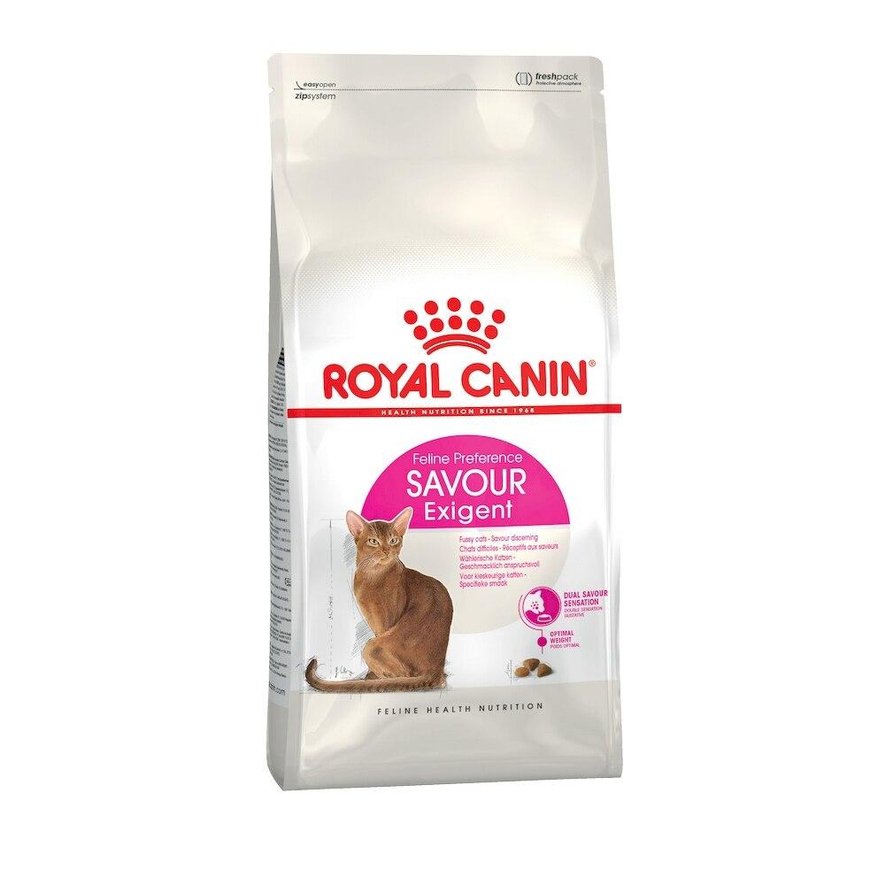 Cat Food Royal Canin Exigent Savour Sensation, 4 kg