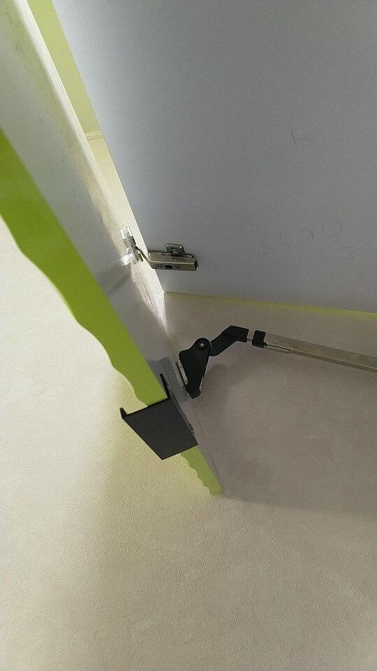 KAK Black Silver Hidden Cabinet Handles Zinc Alloy Kitchen Cupboard Pulls Drawer Knobs Bedroom Door Furniture Handle Hardware