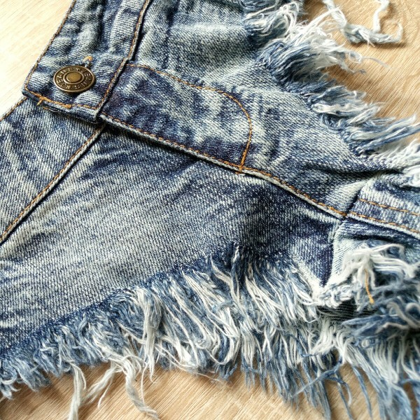 Sexy Denim Micro Mini Shorts For Women Beach Hot Sexy Ripped Short Jeans Summer Denim Black Micro Denim Shorts Women photo review