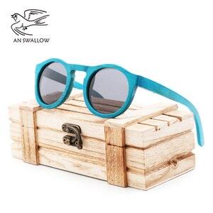 Image 2 - high quality Handmade Bamboo fashion sunglasses woman luxury Polarized UV400 sunglasse Bamboo Wood  Beach Sunglasses for man