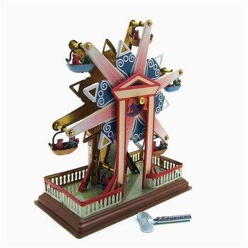 Cielo de acero clásico Vintage Clockwork Wind Up niños juguetes de hojalata con llave divertida nueva llegada