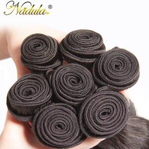 Image 5 - Nadula cabelo 1 pacote brasileiro onda do corpo cabelo tecelagem cor natural tecer cabelo brasileiro pacotes 100% remy extensões de cabelo humano