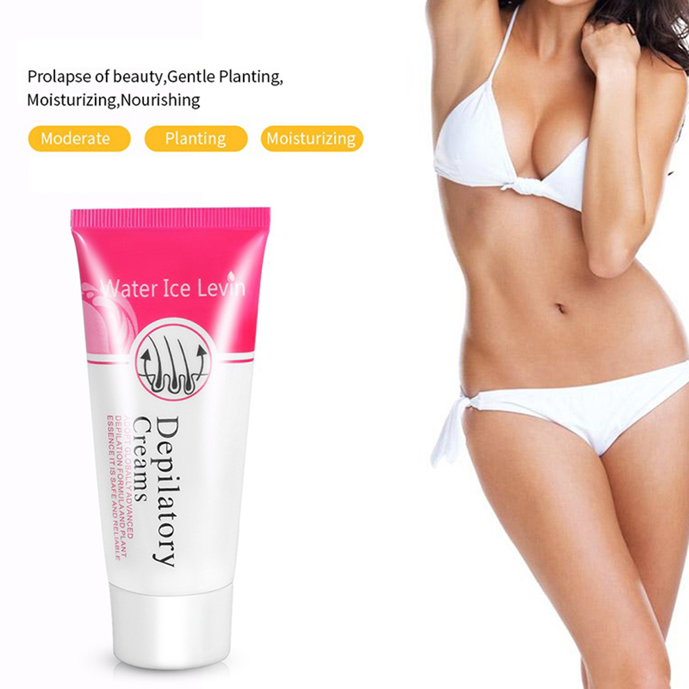 Moderate Painless Armpit Legs Private Part Body Depilatory Hair Removal Cream