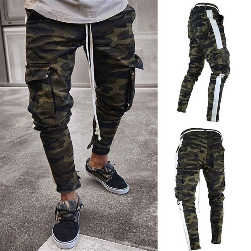 Mutter & Kinder Bosibio Army Green Cargo Hosen Männer Neue Ankunft Military Stil Slim Fit Baumwolle Hosen Mann Casual Hosen Viele Taschen 3708