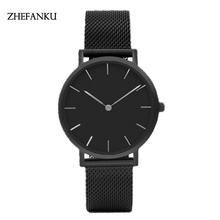 ZHEFANKU Brand Luxury Men's Watch Waterproof Ultra Thin Clock Male Casual Quartz Watches Men Wrist Sport Watch Relogio Masculino