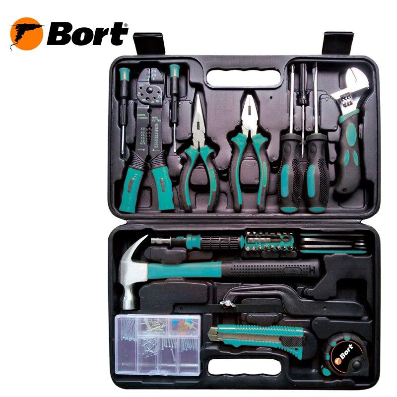 Hand tool set Bort BTK-160