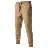 2017 Nouveau Mode Hommes Casual Pantalons Tous Les Match Loisirs chinos Pantalon Hommes Harem Pantalon Coton Solide Couleur Mince Joggeurs pantalons de Survêtement