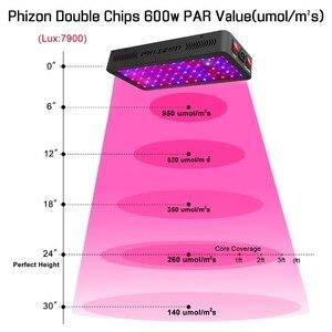 Image 5 - Phlizon 900w espectro completo luz led de cultivo de doble Chip para plantas hidropónicas de interior verduras y floración con CE,RoHs FCC cerificación