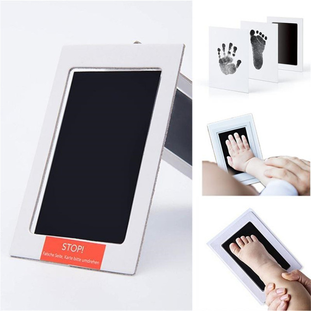 An Included Clean Touch Ink Pad Hand Footprint Makers Baby