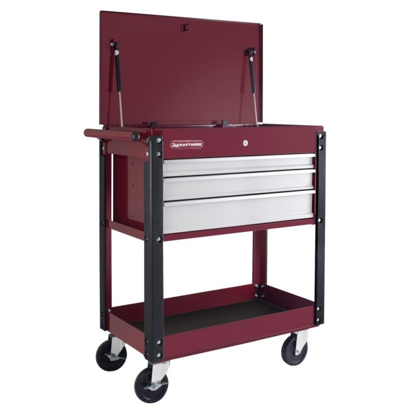 KRAFTWERK 3917-Trolley Service 3 Drawers/compartments