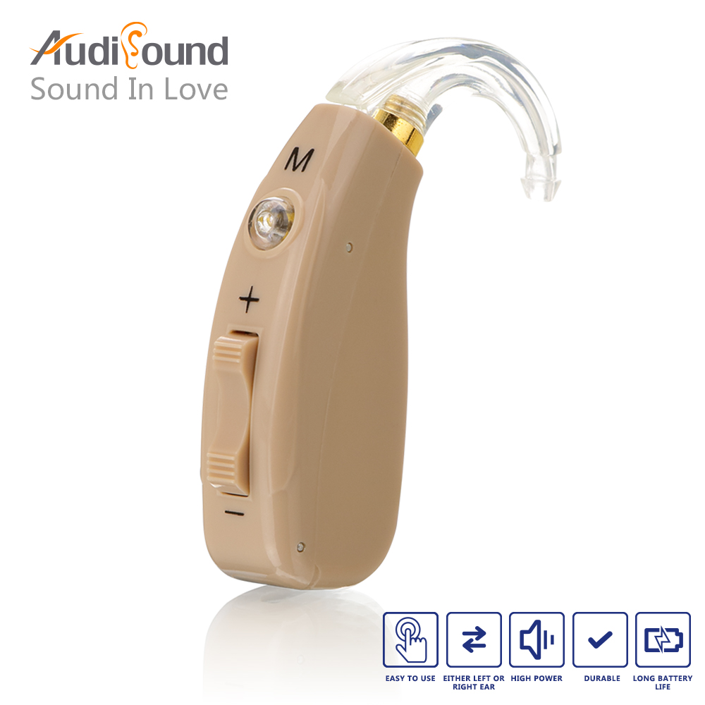 Rechargeable BTE Hearing Aid for The Elderly / Hearing Loss Sound Amplifier Ear Care Tools Skin Color Adjustable Hearing Aids matrix g3 fw84