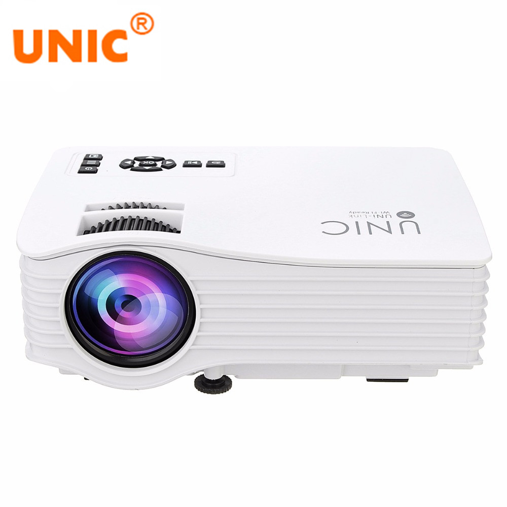 Unic uc36 wireless wifi home theater cinema projector for Wireless micro projector