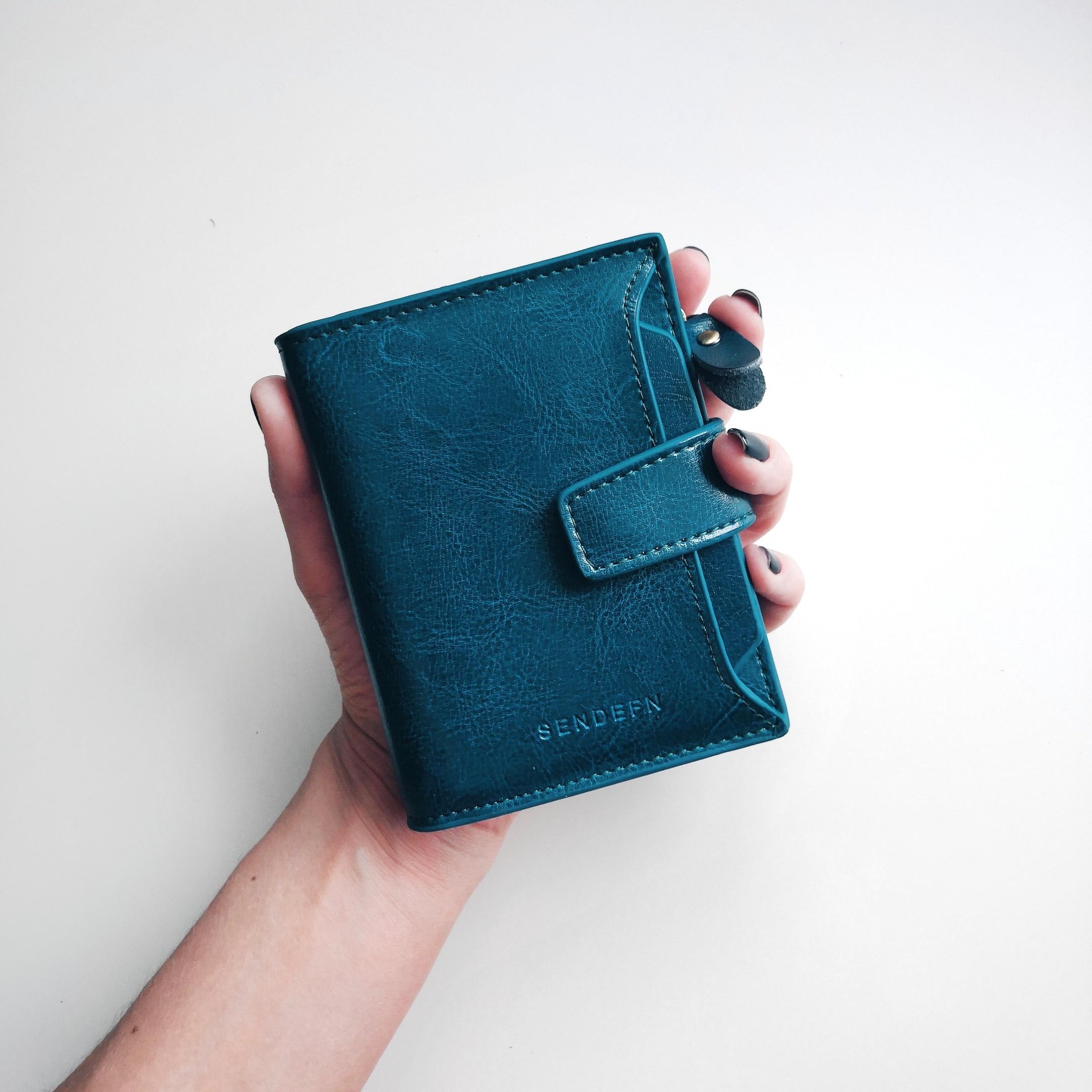небольшой бумажник женщин; роскошные; Цвет:: Красный Вино,Синий,Черный,Желтый;