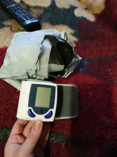 Easy DIY Wrist Digital Lcd Blood Pressure Monitor photo review