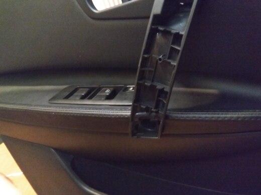 Center Console Lid Armrest Cover Vinyl Light For Honda Accord 2008-2012 Gray UA