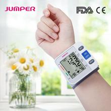 Automatic Digital LCD Display Wrist Blood Pressure Monitor Heart Beat Rate Pulse Meter Tonometer Sphygmomanometers pulsometer abpm50 ce fda approved 24 hours patient monitor ambulatory automatic blood pressure nibp holter with usb cable