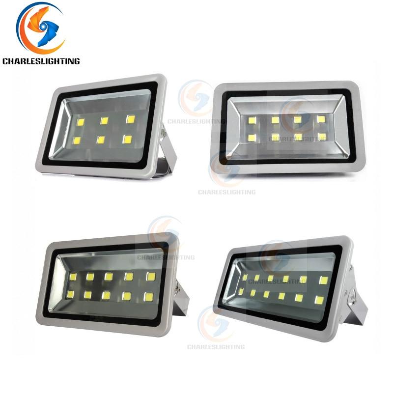CHARLESLIGHTING 3 Years Warranty LED Floodlight 300W/400W/500W/600W High Power Lamp Waterproof IP65 AC85-265V Warm/Cold White