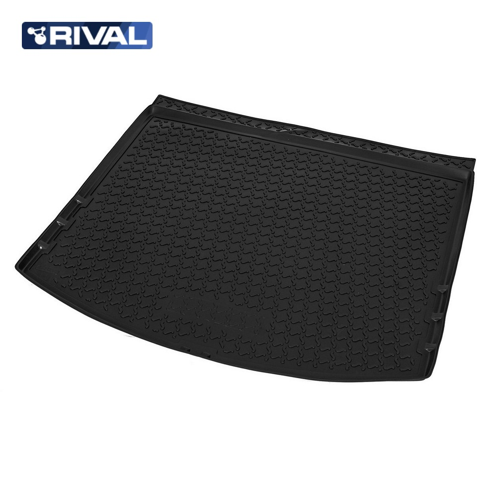 For Mazda CX5 2011-2016 trunk mat Rival 13803003 трафарет woodbine qm1703