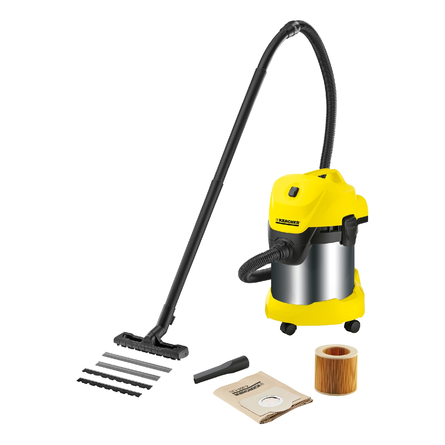 Vacuum cleaner for dry and wet cleaning KARCHER WD 3 Premium