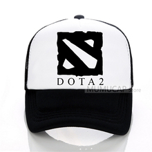 Dota2 LOL CSGO Game Team Baseball cap CSGO GAMING snapback hat Men women  Mesh trucker cap f16bd135d431