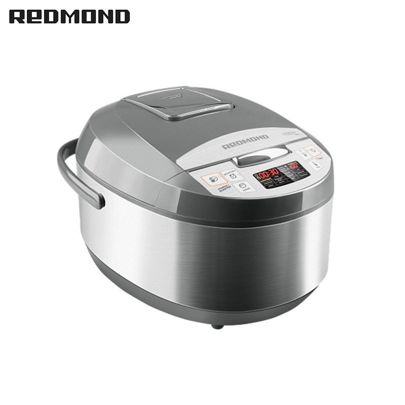 Multi Cooker Redmond RMC-M4511 multivarka multivarki multivarka cooker multicookings zipper four stereo flap pocket multi button zipper epaulet design hooded long sleeves men s cool hoodie
