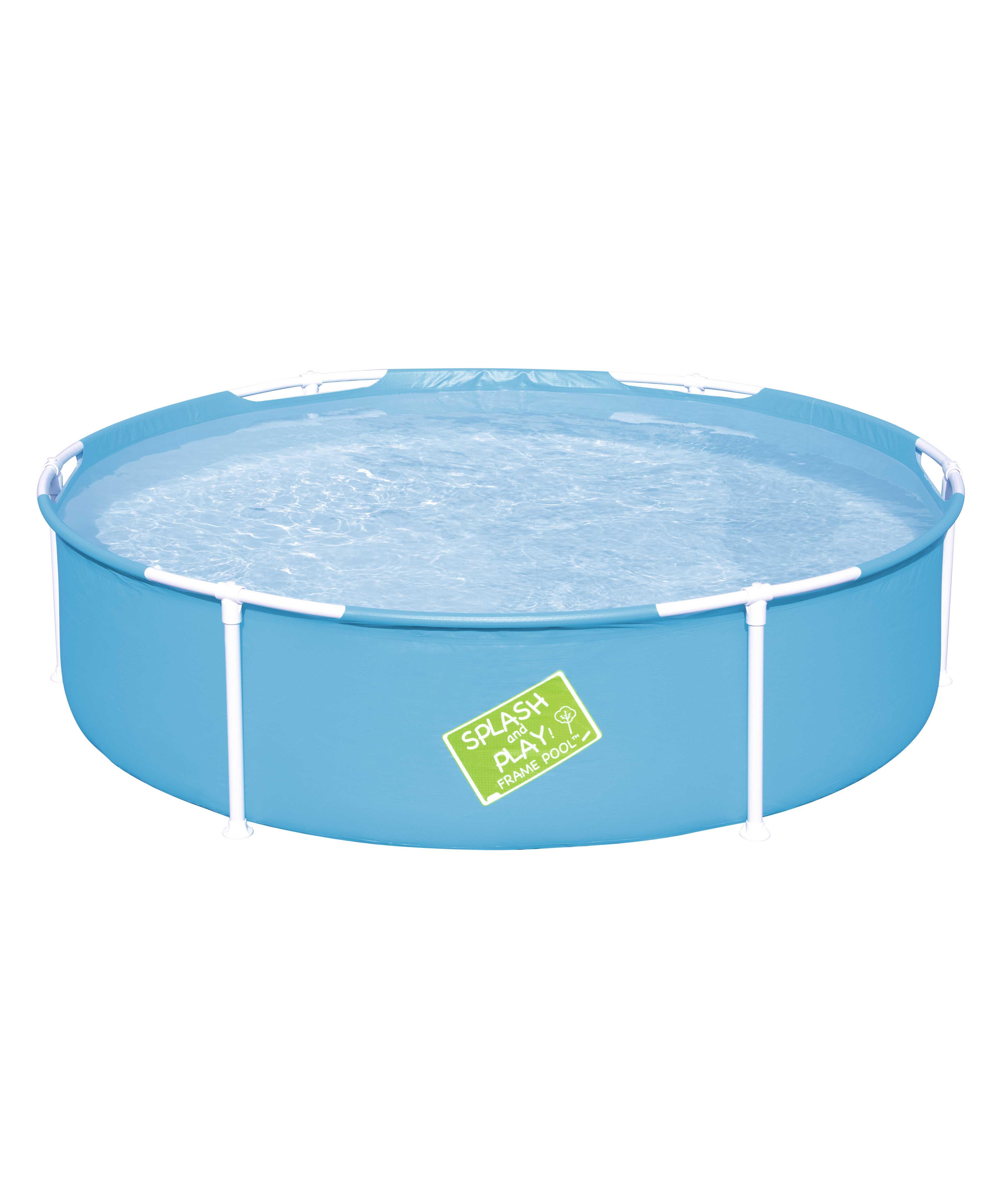 Scaffold Round Basin 152 х38 Cm, 580 L, For Children From 2 Years, Bestway, Item No. 56283
