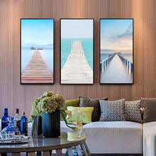SD LINLEEHON Canvas Painting Scenery Seascape Water Wall Art Modular Wallpapers Poster Print Home Decor Unframed