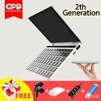 GPD Pocket 2 7 Inches Mini Laptop Tablet PC Windows 10 64bit Notebook 4GB / 128GB 2.4G & 5G WiFi BT 4.1 Type C IPS Touchscreen