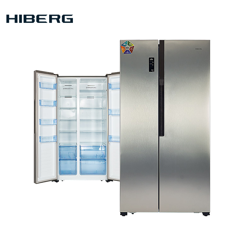 Refrigerator Side-by-Side  HIBERG RFS-67D NFS