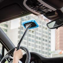 1 sztuk odpinany 13 cal szczotka do okna z mikrofibry do czyszczenia wycieraczek szczotka do czyszczenia z tkaniny Pad samochód urządzenie do czyszczenia samochodów urządzenia do oczyszczania szczotka tanie tanio Gąbki Tkaniny i szczotki Microfiber Plastic Liplasting 13cm 39cm 0inch Windshield clean and shine