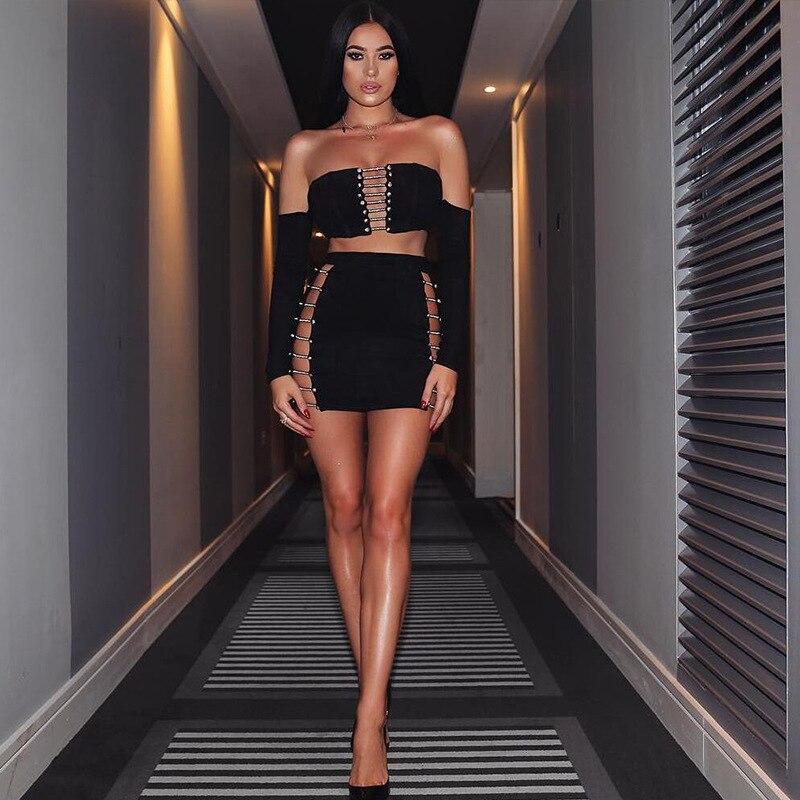 Mini Randello All'ingrosso Sexy 2018 Vestiti Dalla Senza Celebrità Con Bretelle Fasciatura Corpo Del Scava Elegante Fuori Maglia Della ZfxTwdx
