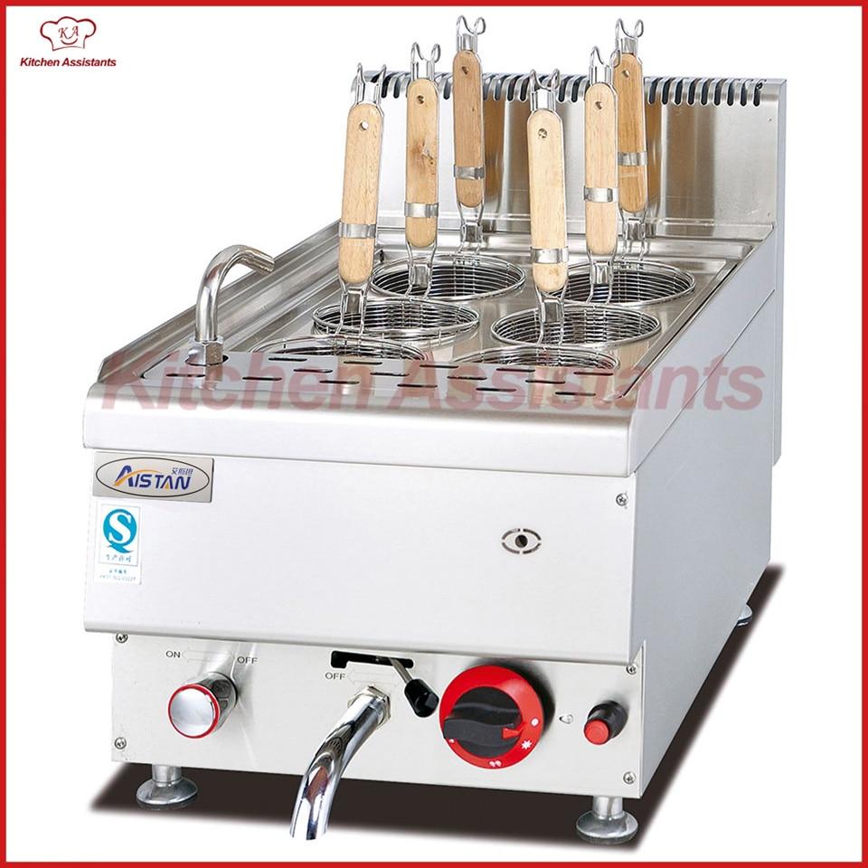 Haushaltsgeräte Gh548 Gas Nudelkocher Catering Ausrüstung Strukturelle Behinderungen Großgeräte