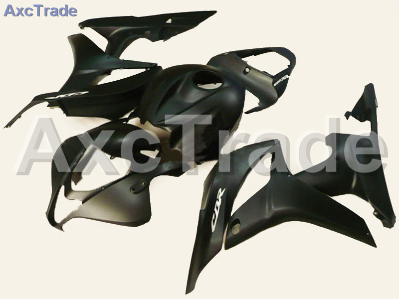 Motorcycle Fairings For Honda CBR600RR CBR600 CBR 600 RR 2007 2008 07 08 F5 ABS Plastic Injection Fairing Bodywork Kit Black 232 abs injection fairings kit for honda 600 rr f5 fairing set 07 08 cbr600rr cbr 600rr 2007 2008 castrol motorcycle bodywork part