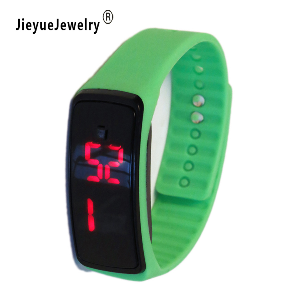 Women Men LED Digital Screen Watch New Silicone Watchband Dress Sports Watches Fashion Outdoor Wristwatches kids for student free drop shipping 2017 newest europe hot sales fashion brand gt watch high quality men women gifts silicone sports wristwatch