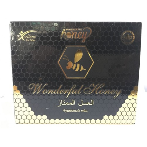 Dose Sexual Vital Vip Wonderful Turksh Gr--12-Sachets Natural Honey 15 Increase Men Original title=