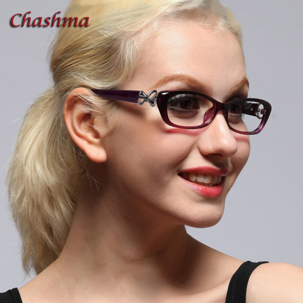 Chashma Marca Moda Mujeres Gafas de lectura Gafas ópticas hermosas para niñas Gafas de lectura 1.0, 1.5, 2.0, 2.5, 3.0, 3.5