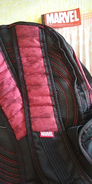 HJKL Deadpool Marvel Comics Super Hero Movie Civil War School Bags Men Rucksack Mochila  Bag Backpacks shoulder crossbody photo review