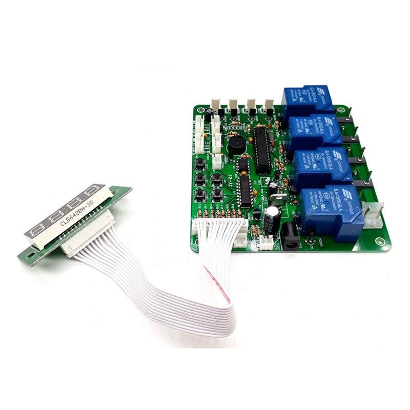 JY 21 V2 переключатель типа 4 цифры 1 4 устройства банкноты монеты управление таймер доска управление временем pcb для стиральной машины автомоби