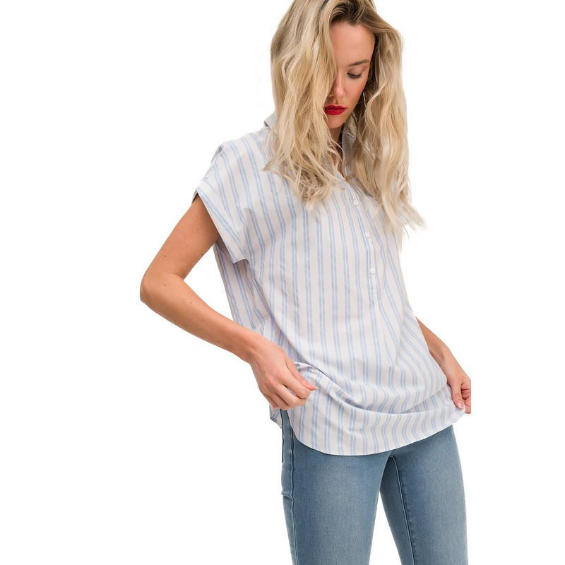 Blouses & Shirts blouse befree for female  shirt long sleeve women clothes apparel  blusas 1811429362-42 TmallFS flare sleeve self tie cut out blouse